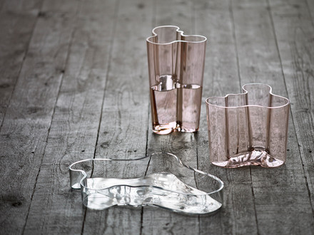 Iittala - Aalto Vase Savoy and Alvar Aalto bowl