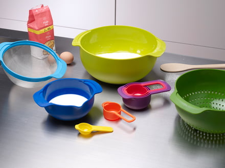 The ultimate collection of kitchen utensils.