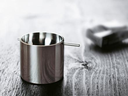 Stelton stainless steel ashtray