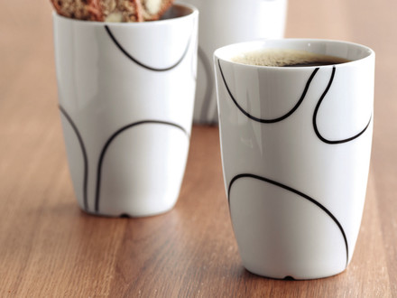 White thermos cups by Menu