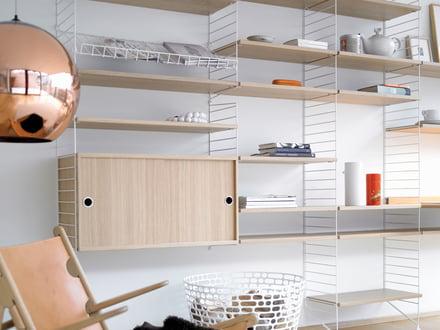 Bookshelf – individual storage facilities