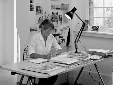 British Fashion designer Margaret Howell