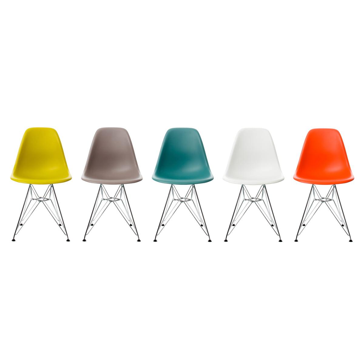 Eames Plastic Side Chair eames plastic side chair dsr by vitra