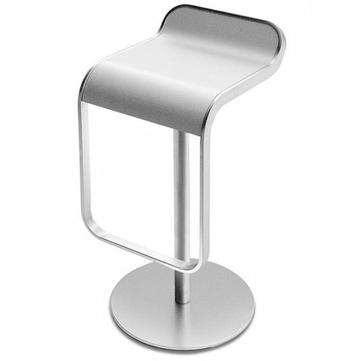 Pleasant Lapalma Lem Barstool Bleached Oak 80Cm Chrome Plated Frame Pdpeps Interior Chair Design Pdpepsorg