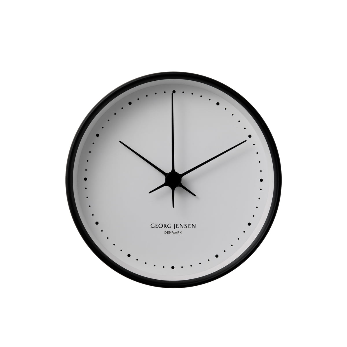 wall clock by henning koppel for georg jensen. Black Bedroom Furniture Sets. Home Design Ideas