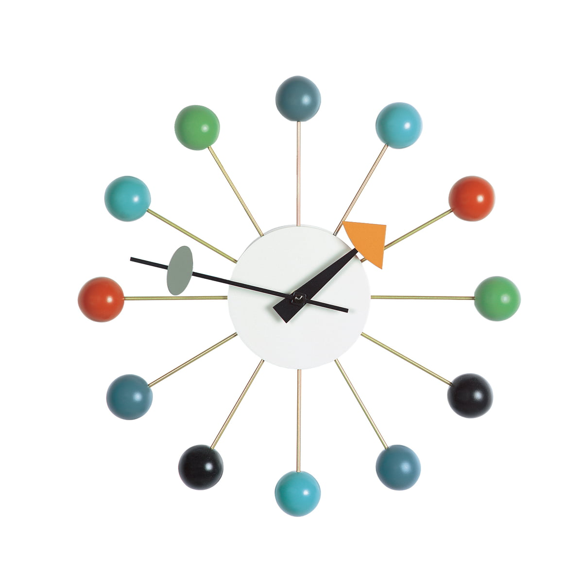 Ball Clock By Vitra Connox Shop