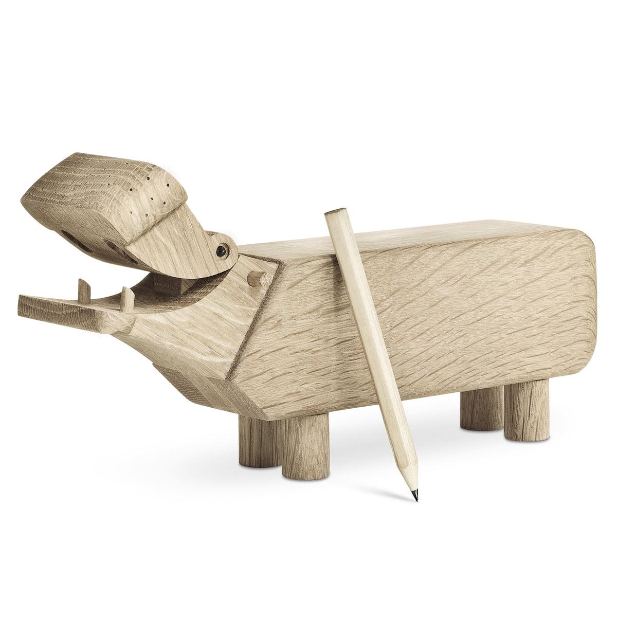 Kay Bojesen Wooden Hippo by Rosendahl