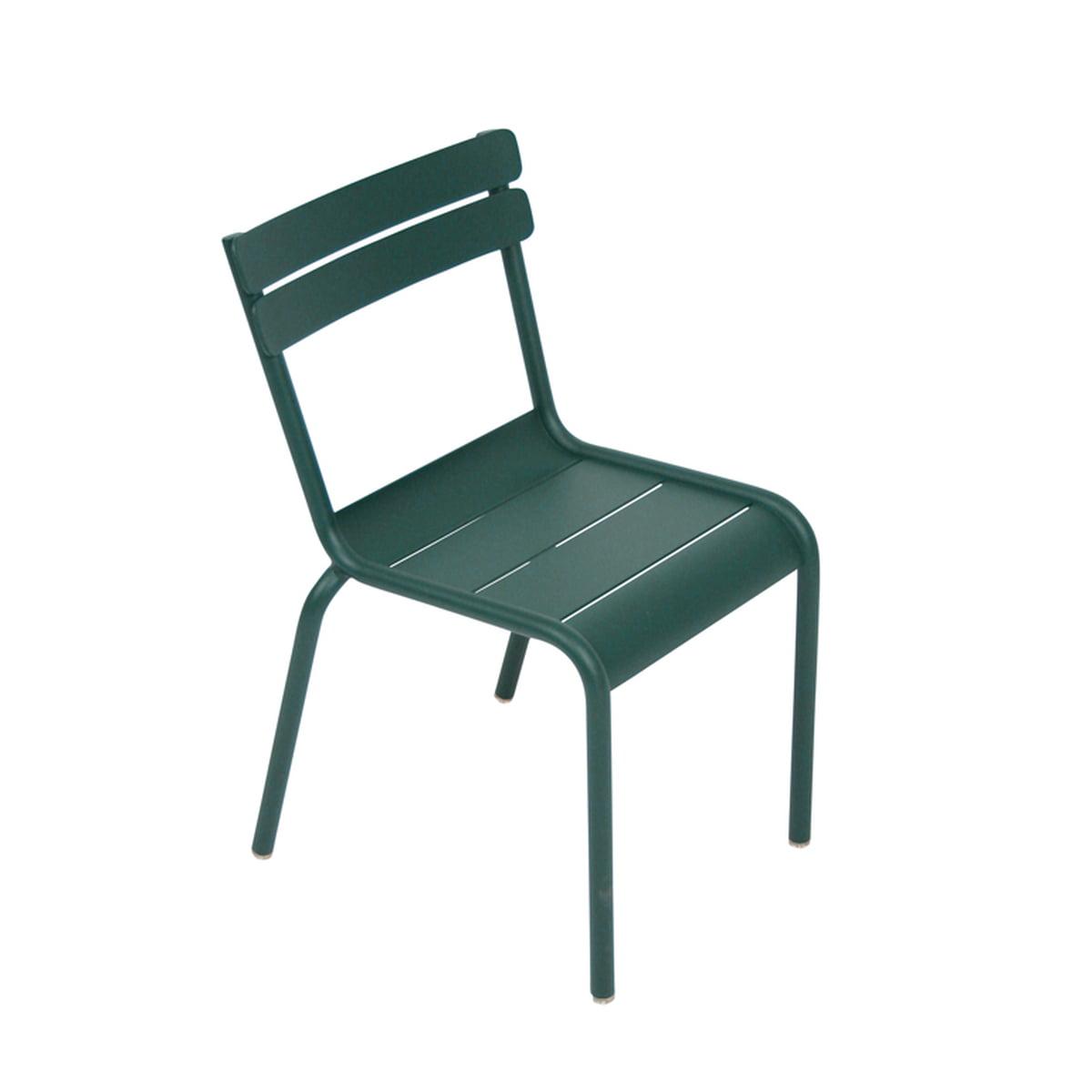 Fermob Luxembourg Kid Children S Chair Cedar Green