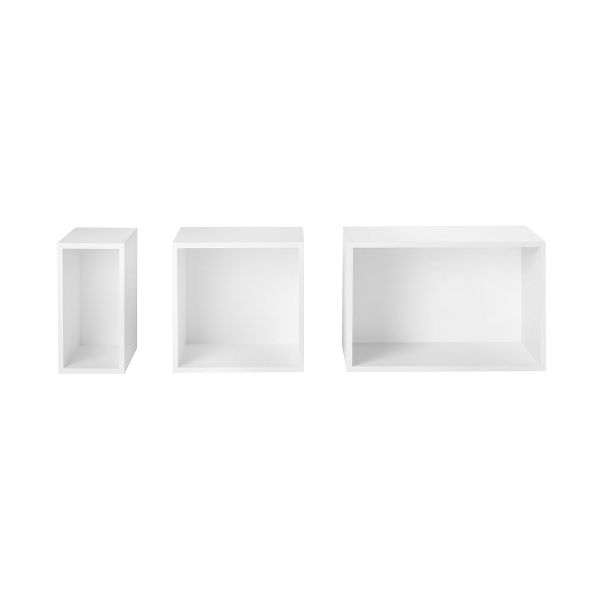 Muuto - Stacked Shelving System - white