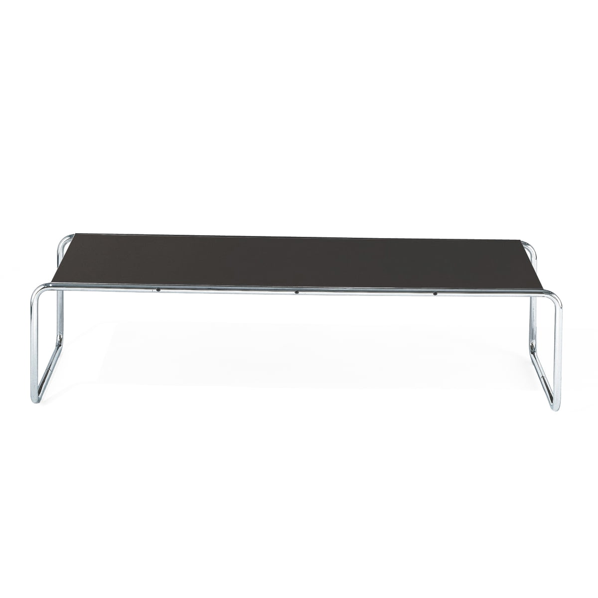 Laccio 2 coffee table by knoll in the shop knoll laccio 2 coffee table black anthracite geotapseo Images