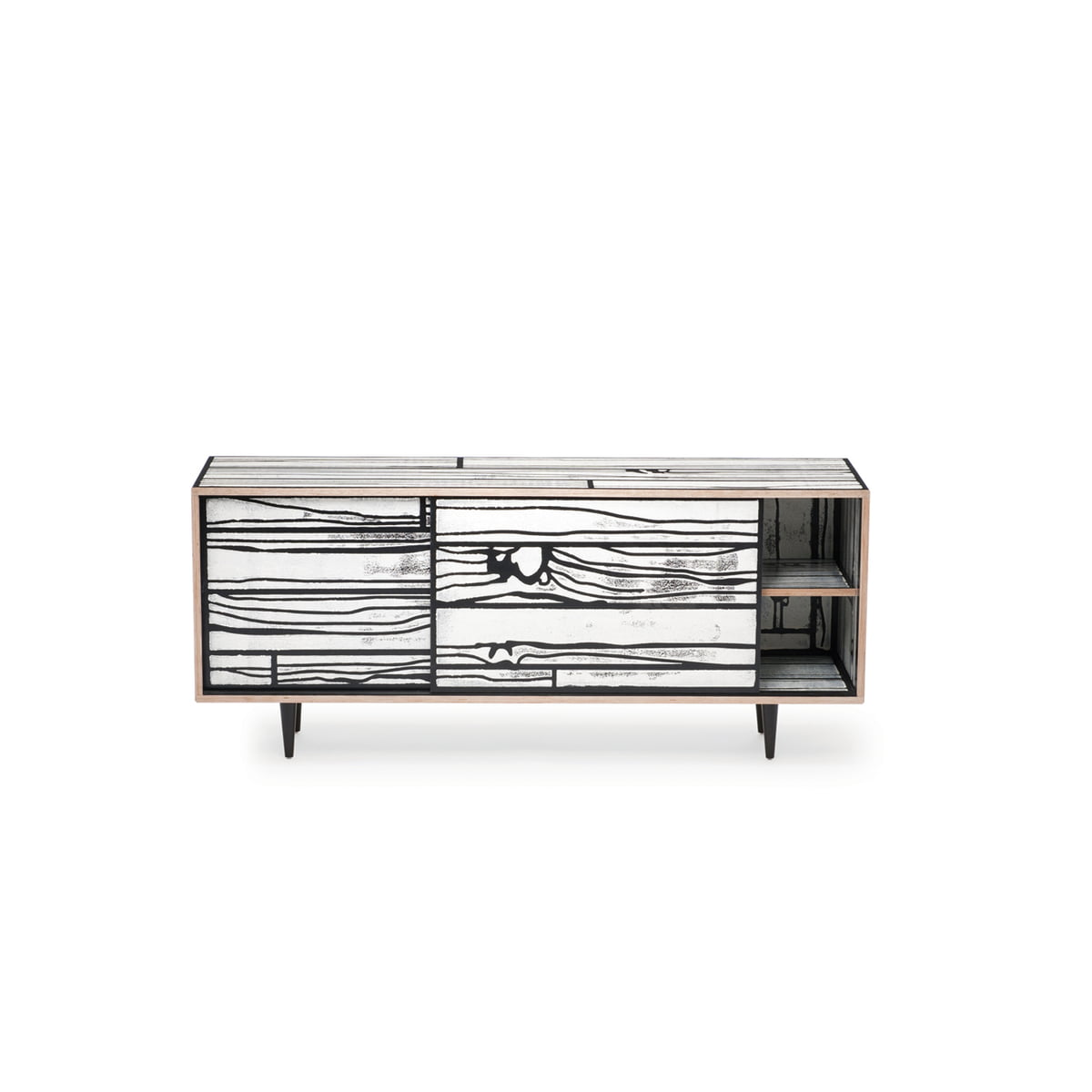 WrongWoods sideboard by Established & Sons