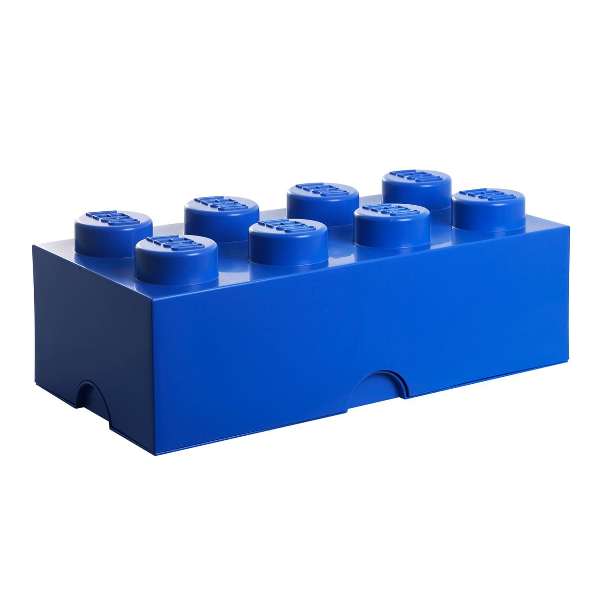 storage brick 8 by lego in the home design shop. Black Bedroom Furniture Sets. Home Design Ideas