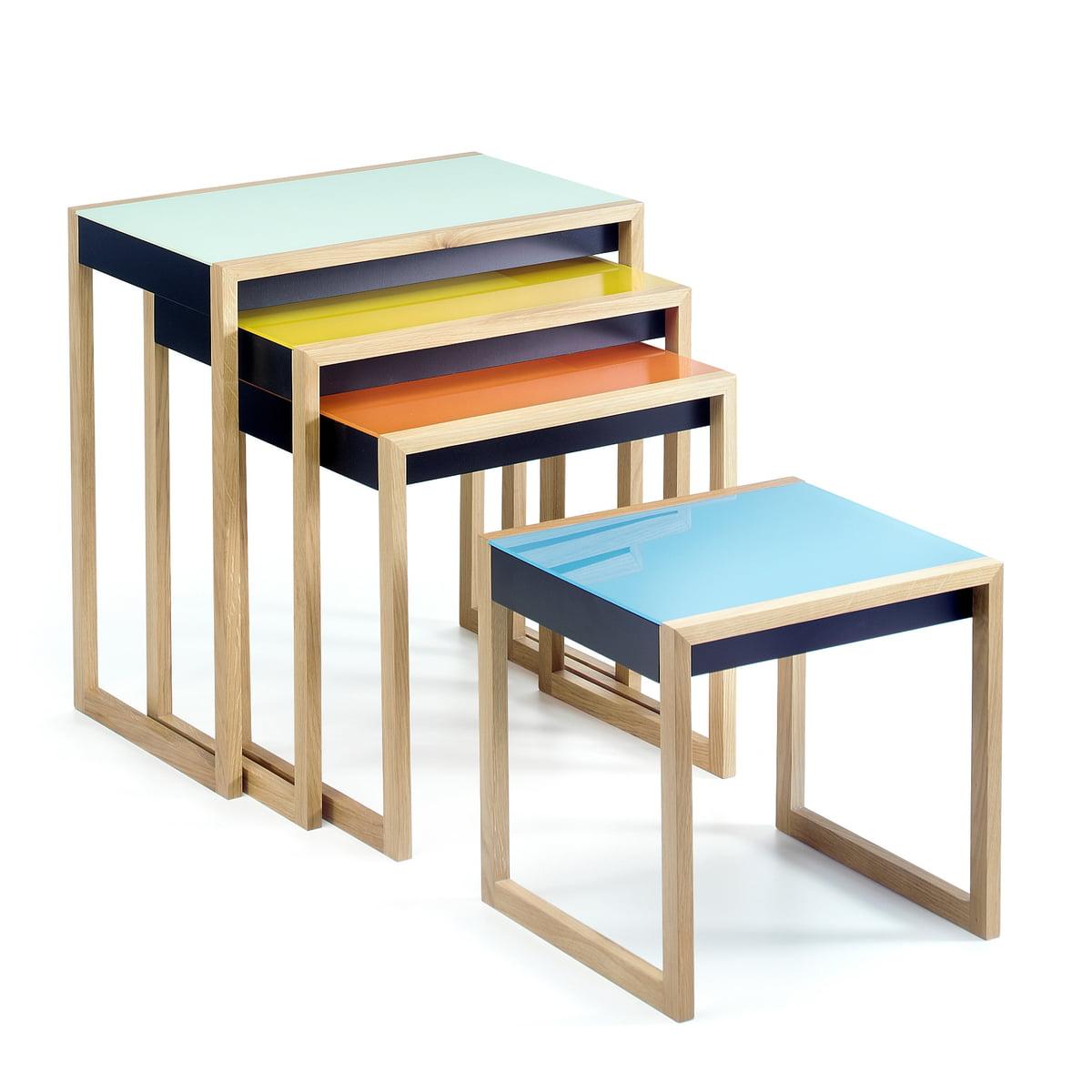 Nesting tables by josef albers connox josef albers nesting tables set of 4 tables watchthetrailerfo