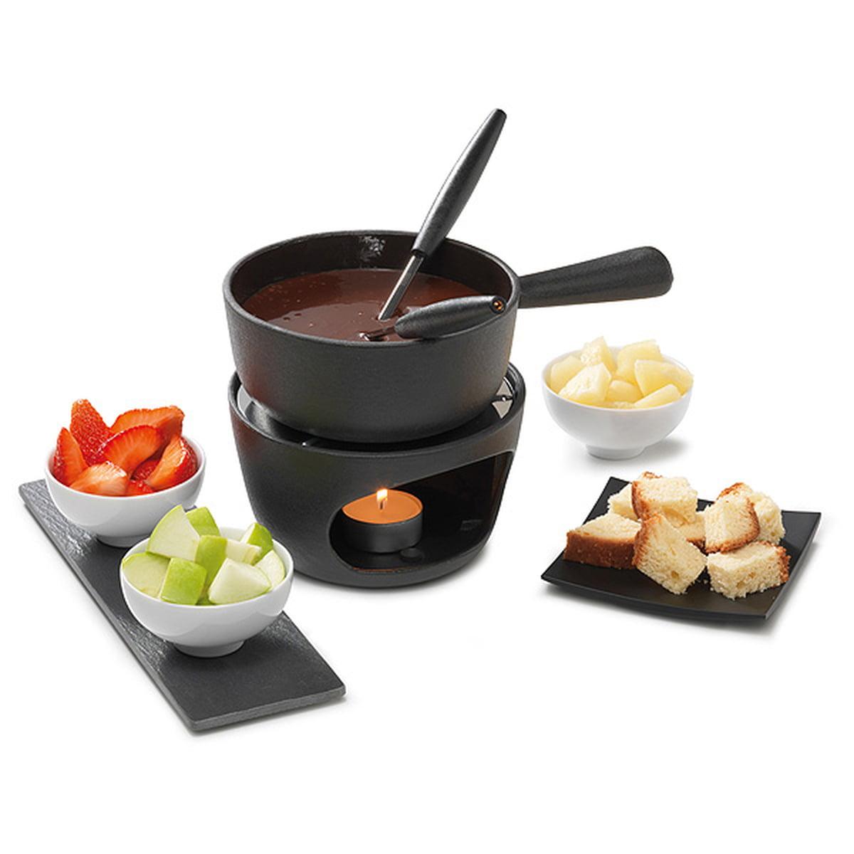 The Choco-Cheese Fondue-set By Stöckli