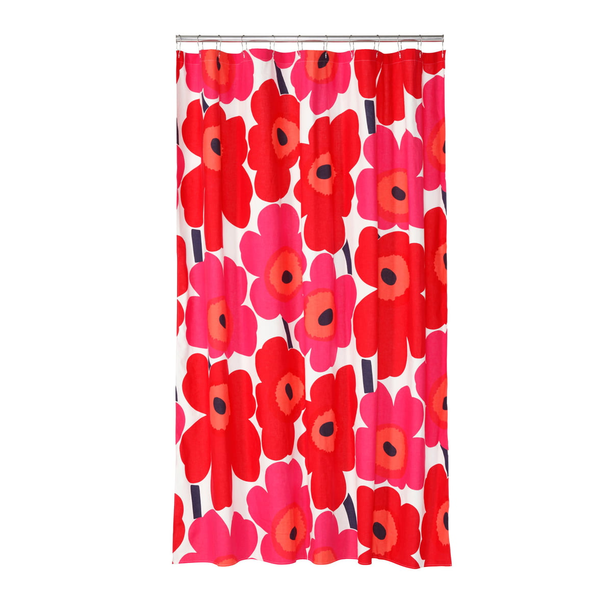 The Unikko Shower Curtain By Marimekko