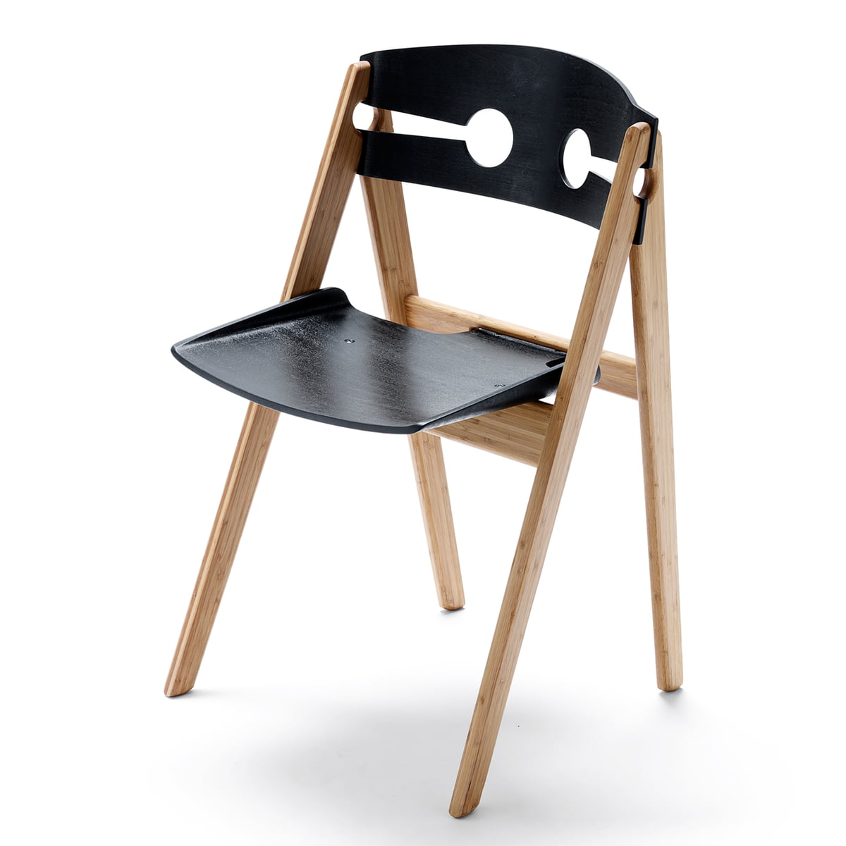 We do wood dining chair no 1 black