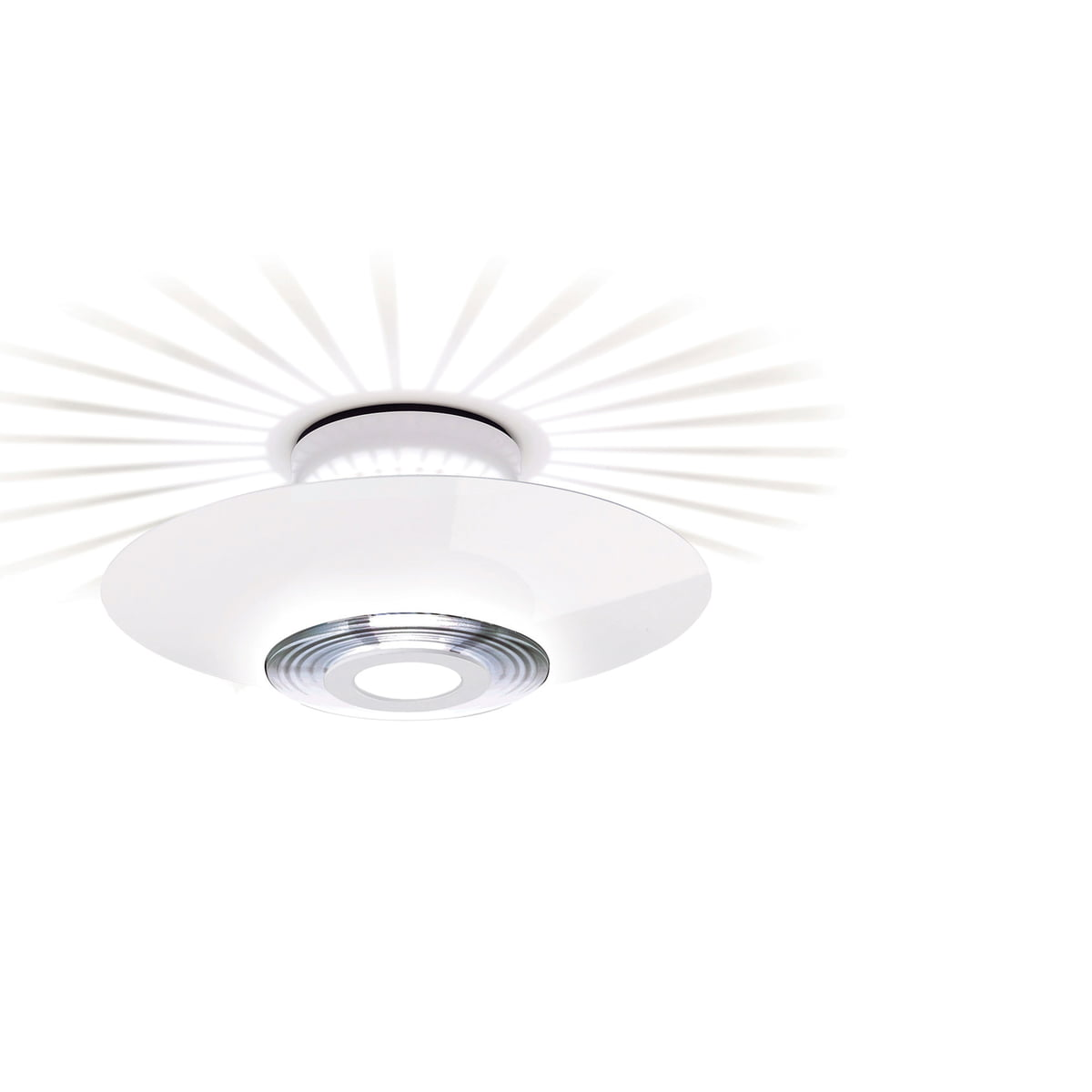 The moni ceiling lamp from flos flos moni 1 ceiling lamp mozeypictures Images