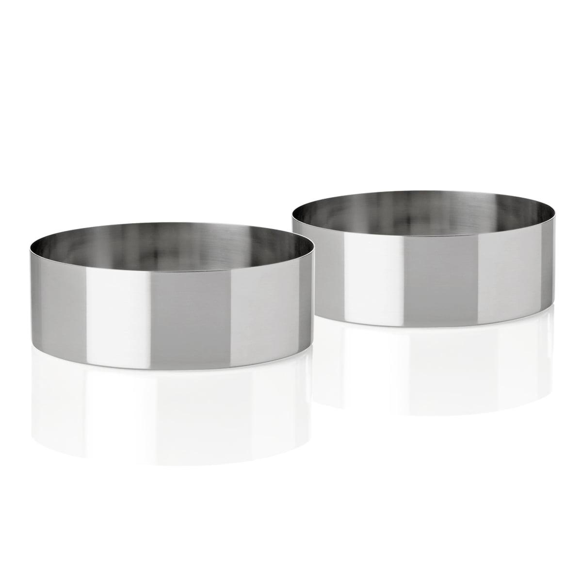 cylinda line snack bowl set of 2 by stelton. Black Bedroom Furniture Sets. Home Design Ideas