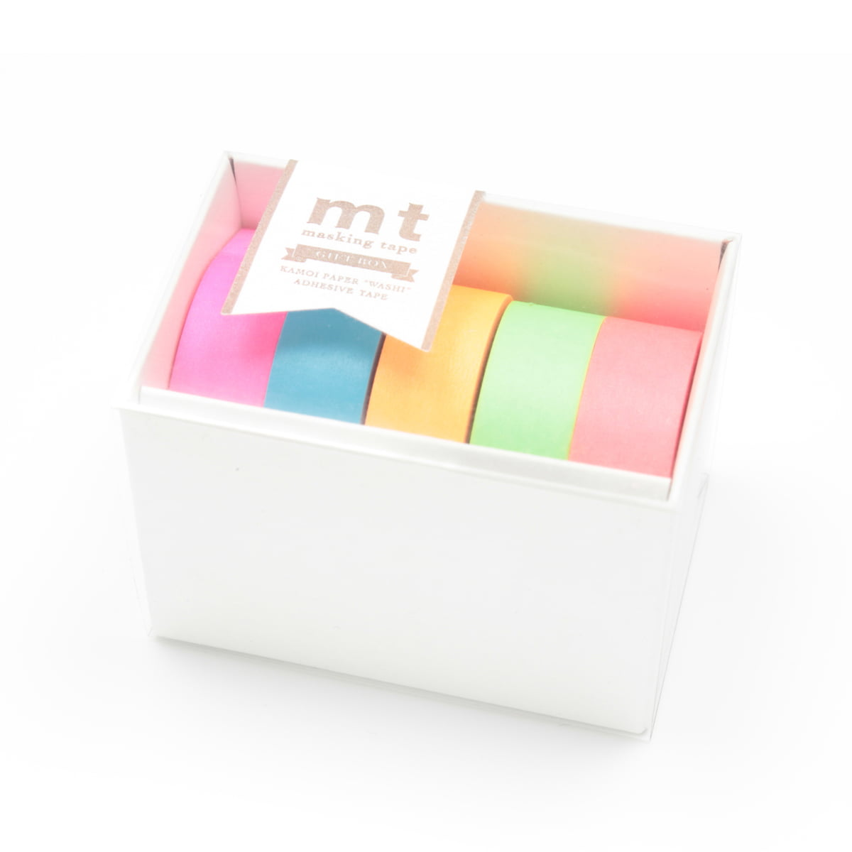 The mt Gift Box Neon by Masking Tape