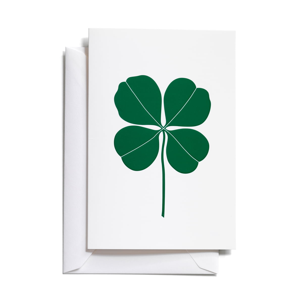 The Greeting Card Four Leaf Clover By Vitra