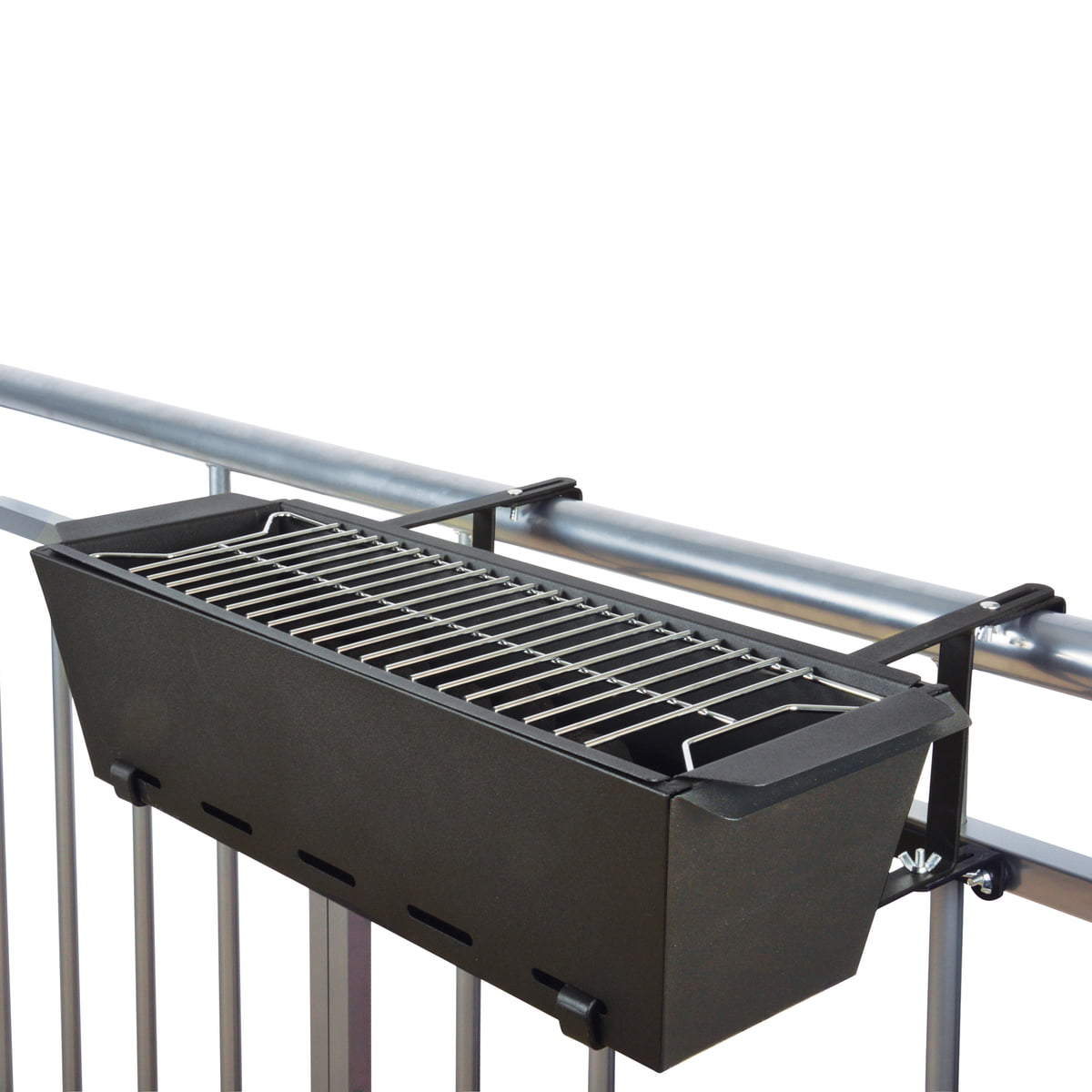 bbq bruce balcony handrail grill in the shop. Black Bedroom Furniture Sets. Home Design Ideas