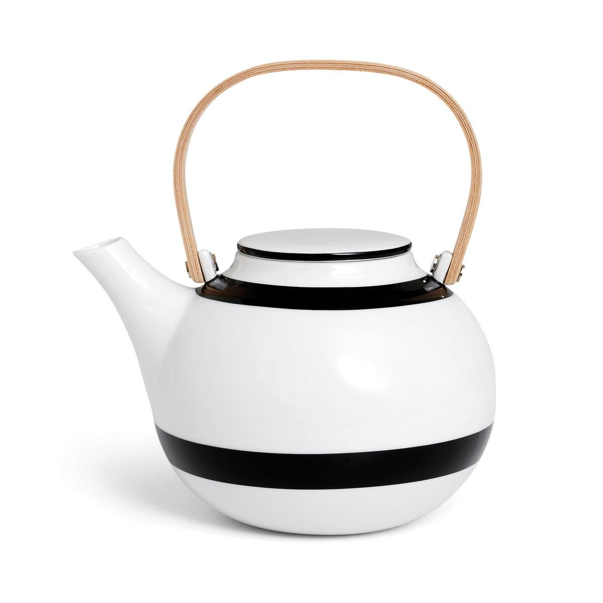 the omaggio teapot by k hler design in the shop. Black Bedroom Furniture Sets. Home Design Ideas