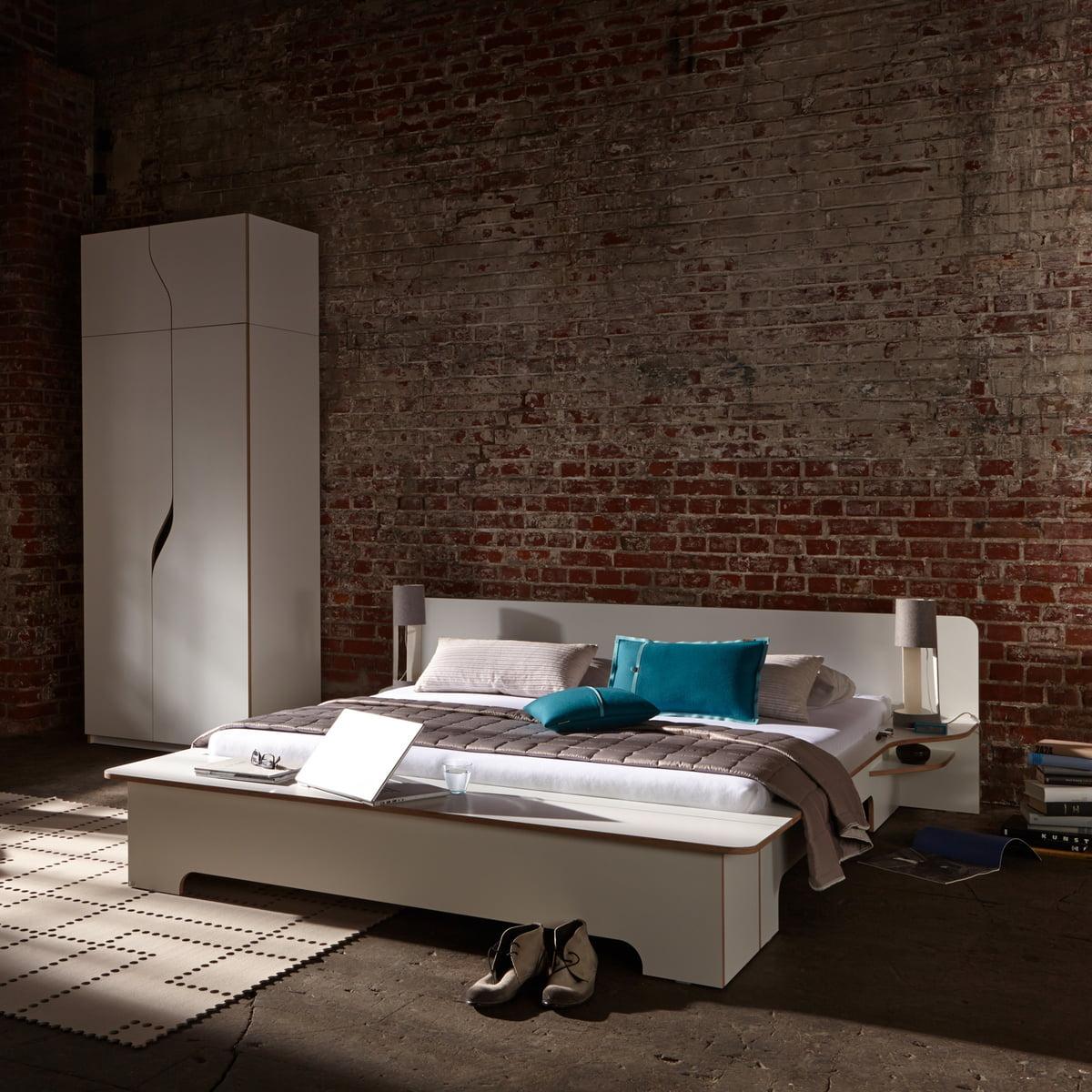 Plane Double Bed By Müller Möbelwerkstätten