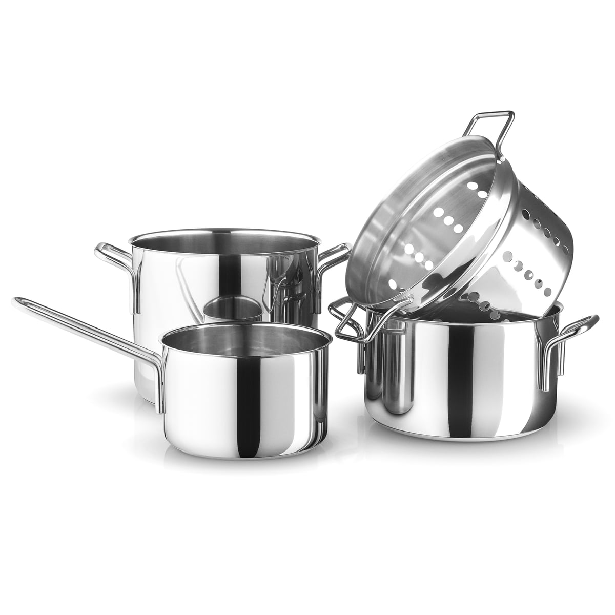 Stainless Steel Pot Set By Eva Trio In Our Shop