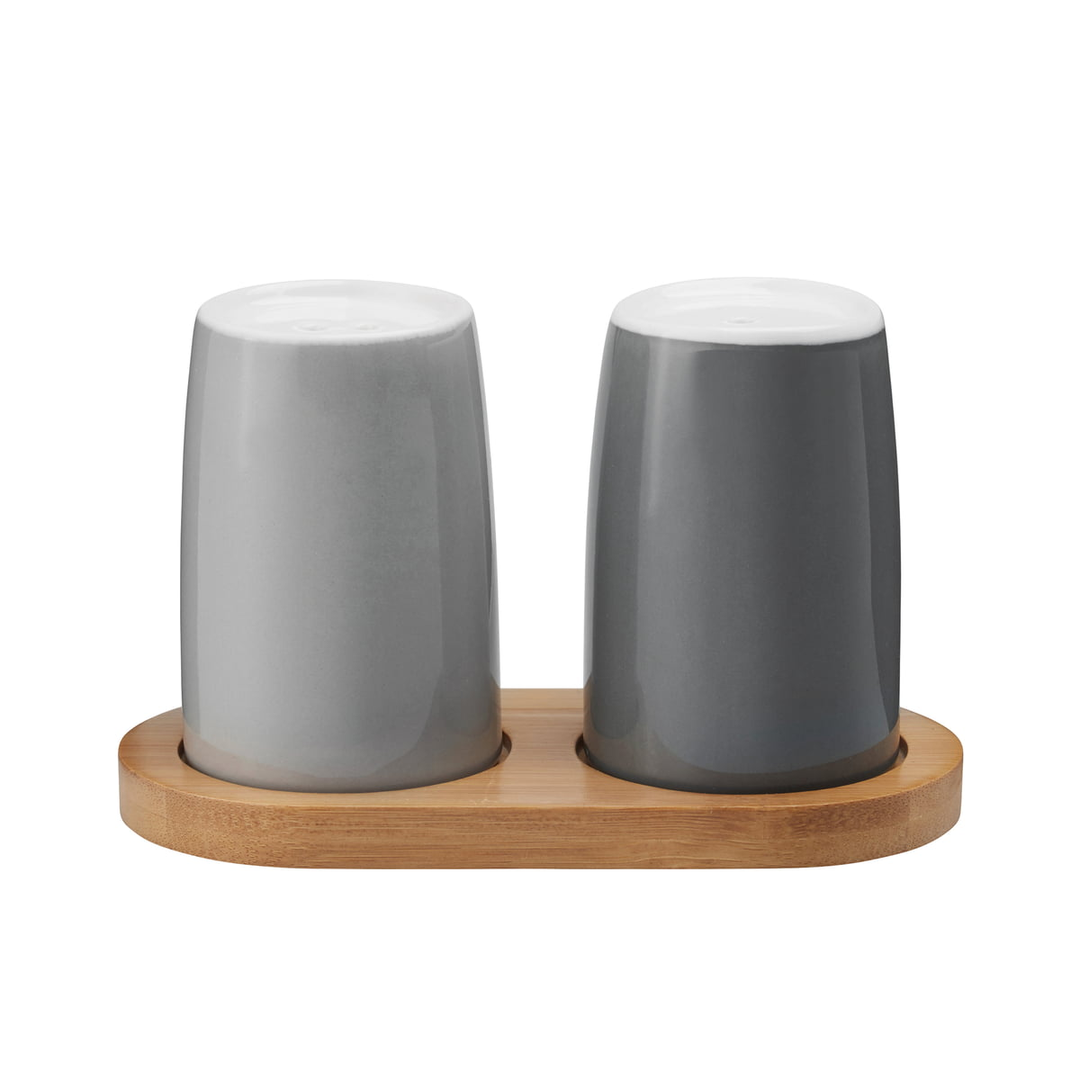 salt and pepper shakers. Stelton - Emma Salt And Pepper Shakers, Grey Shakers