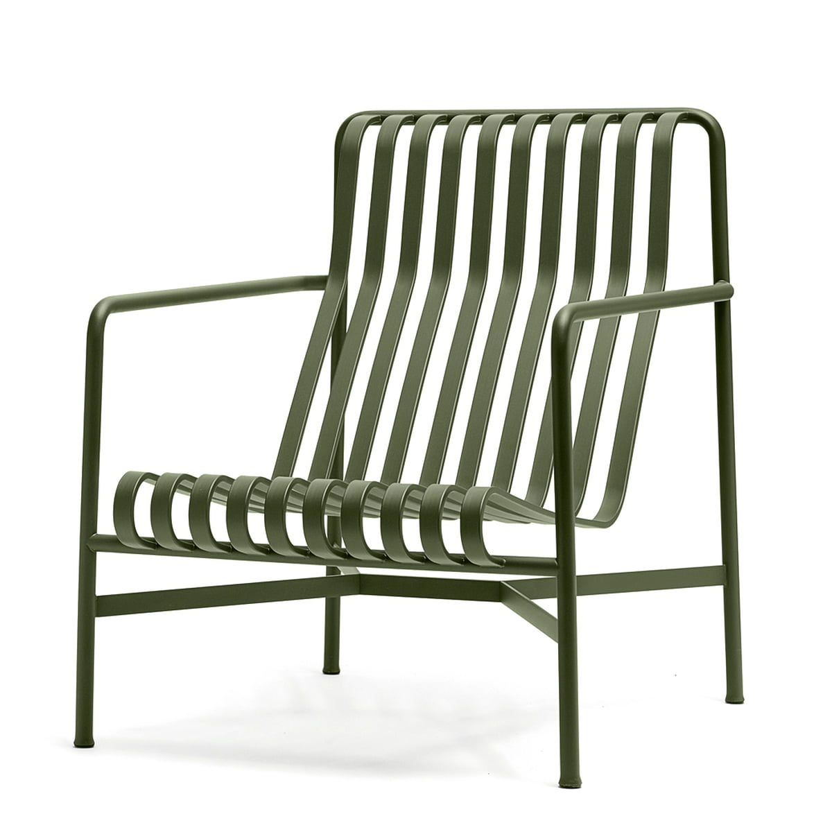 palissade lounge chair high by hay at the shop. Black Bedroom Furniture Sets. Home Design Ideas