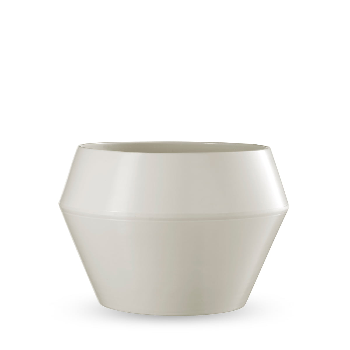 Rimm flower pot large from by lassen in the shop by lassen rimm flowerpot large white reviewsmspy