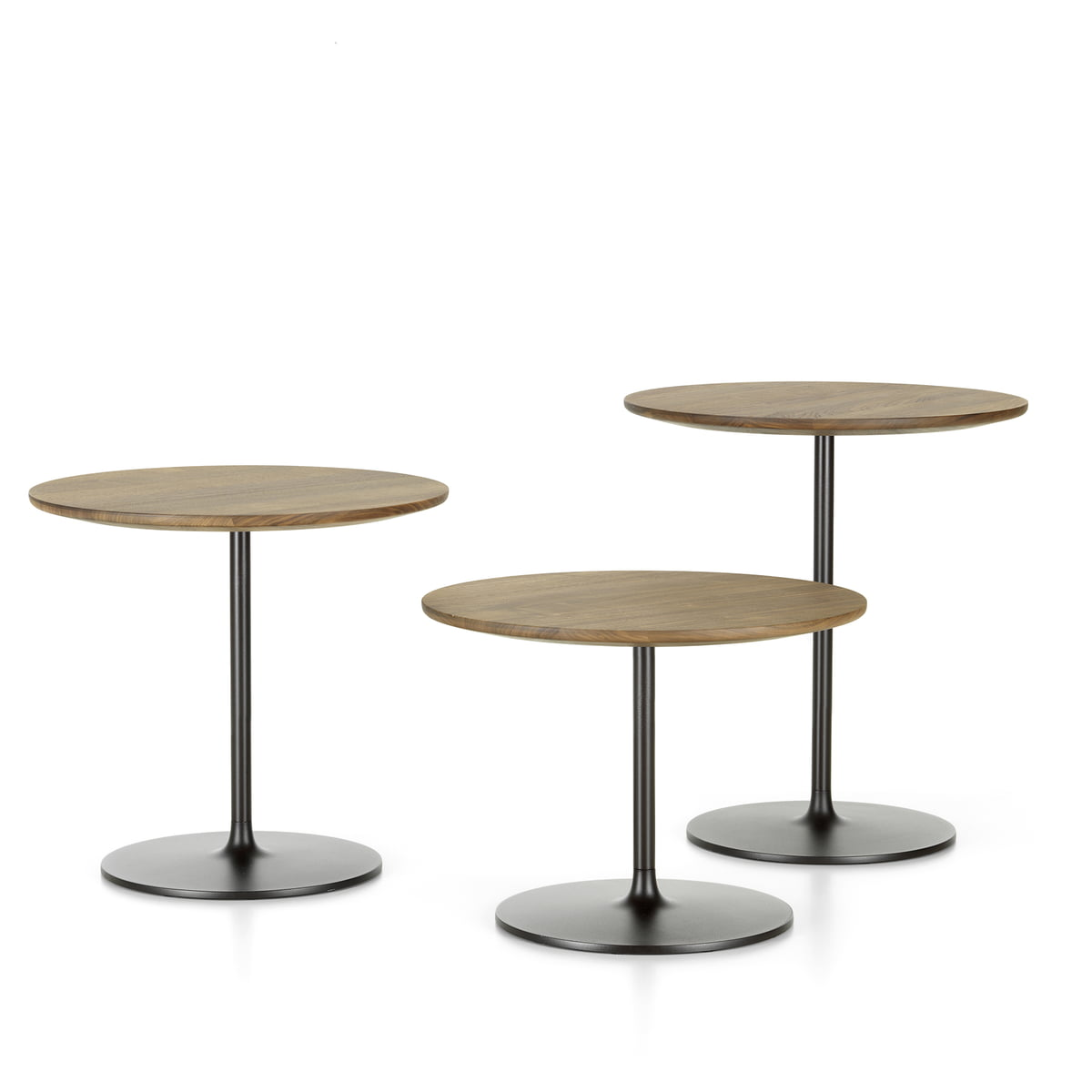 on sale 7a51b 7fc94 Vitra - Occasional Low Table 35, aluminium / chocolate