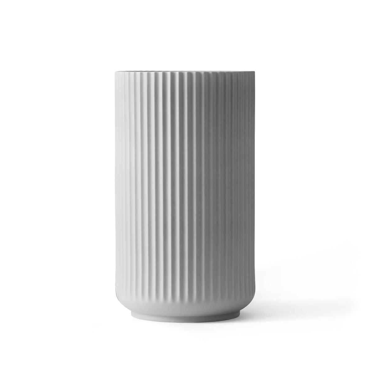 lyngby vase light grey in the shop online. Black Bedroom Furniture Sets. Home Design Ideas