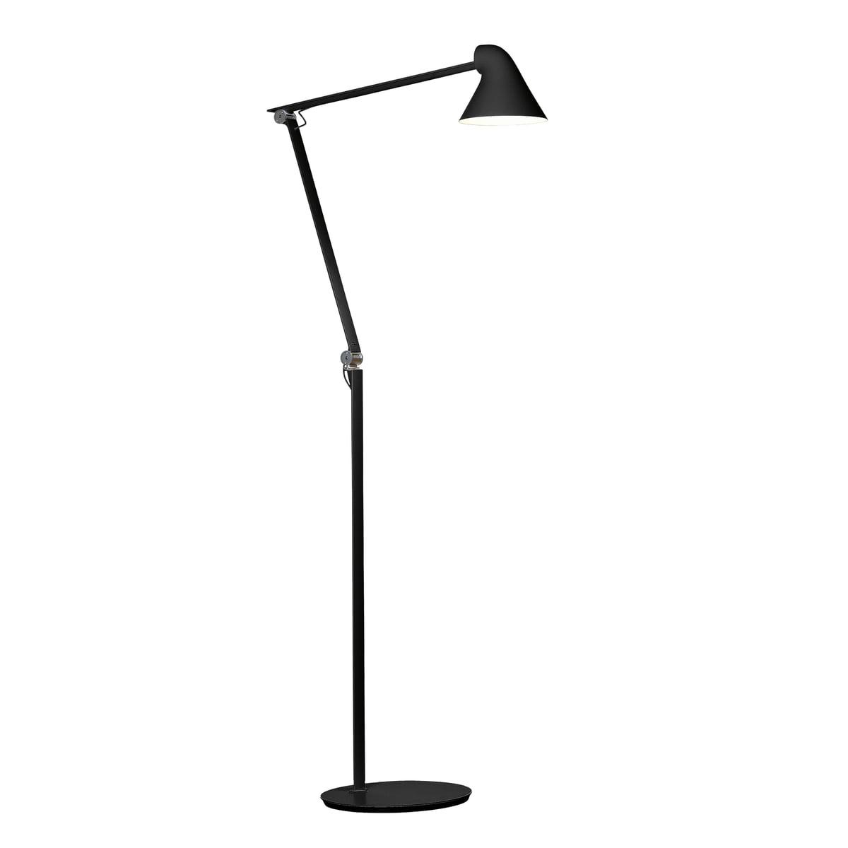 njp led floor lamp by louis poulsen. Black Bedroom Furniture Sets. Home Design Ideas