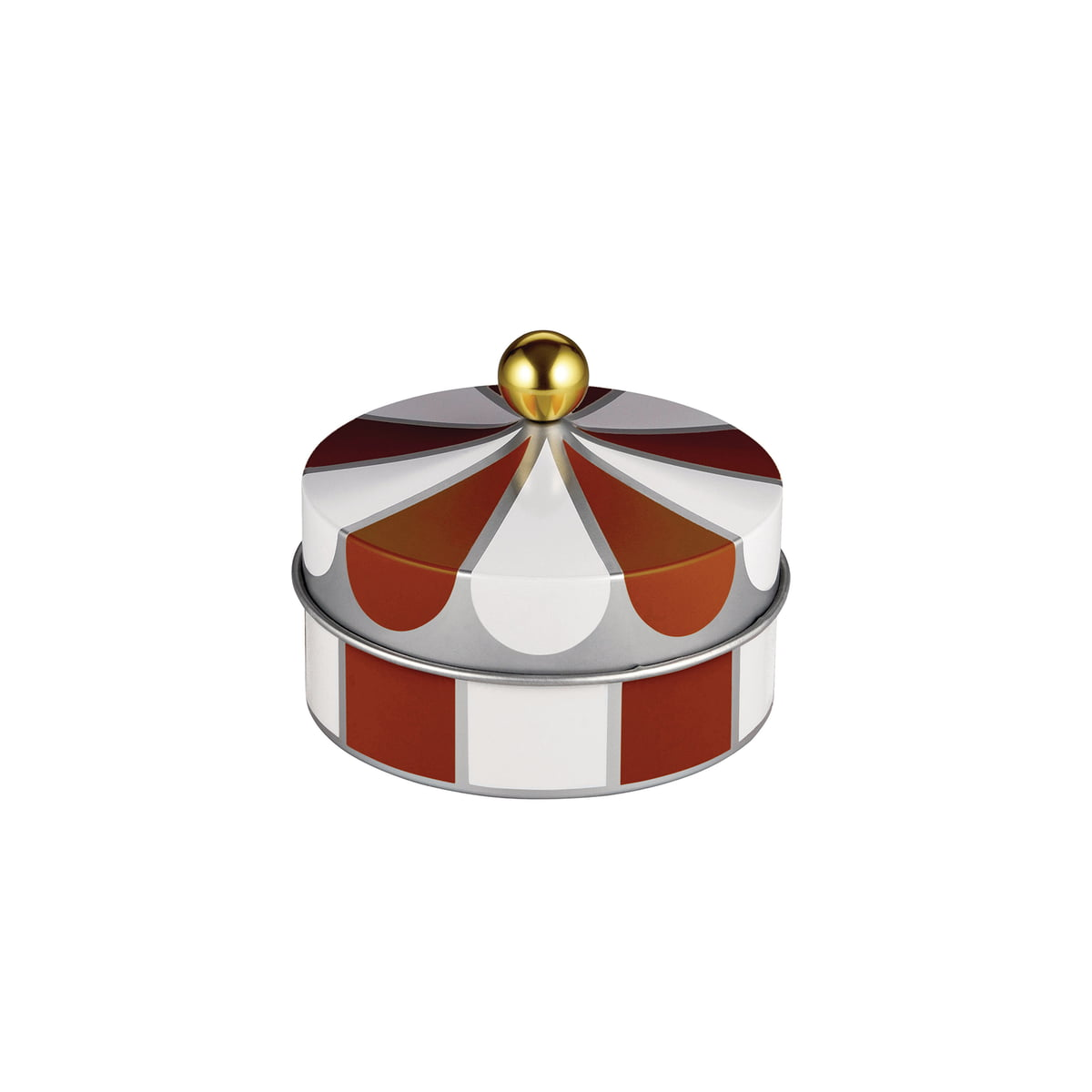 Circus multi purpose tin by alessi in the shop for Alessi shop