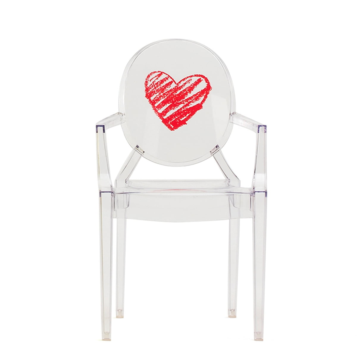 Children\'s Chair Lou Lou Ghost by Kartell in the shop