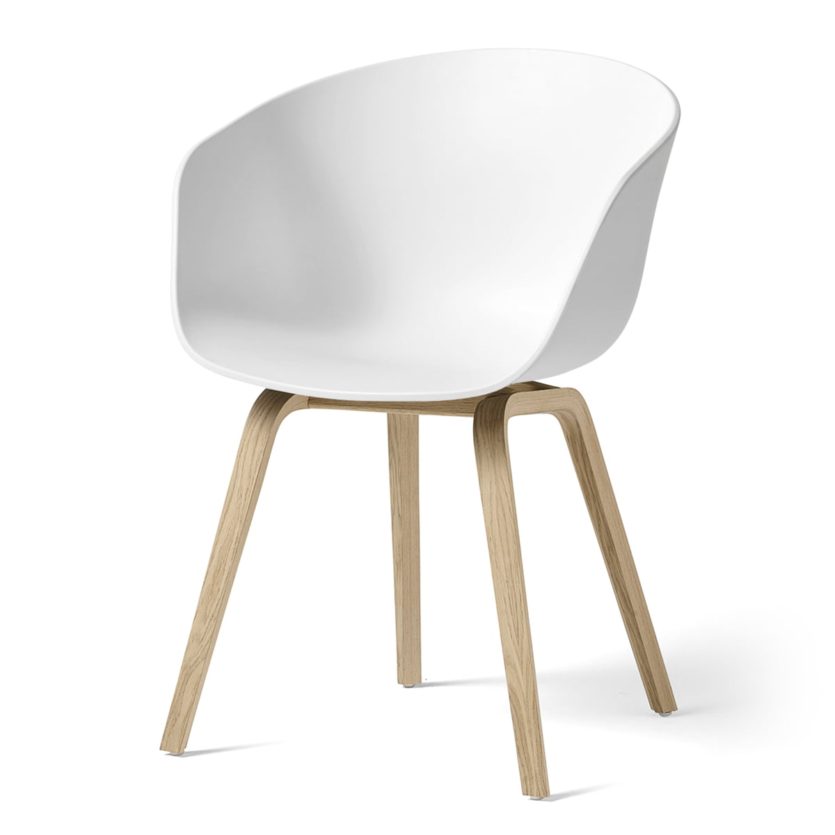 Hay About A Chair Aac 22 Oak Matt Lacquered White