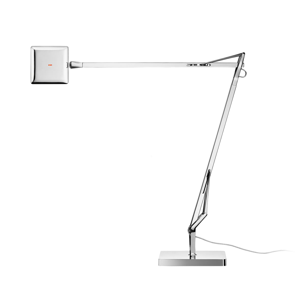 Kelvin edge table lamp by flos in the shop the flos kelvin edge c table lamp in chrome mozeypictures Choice Image