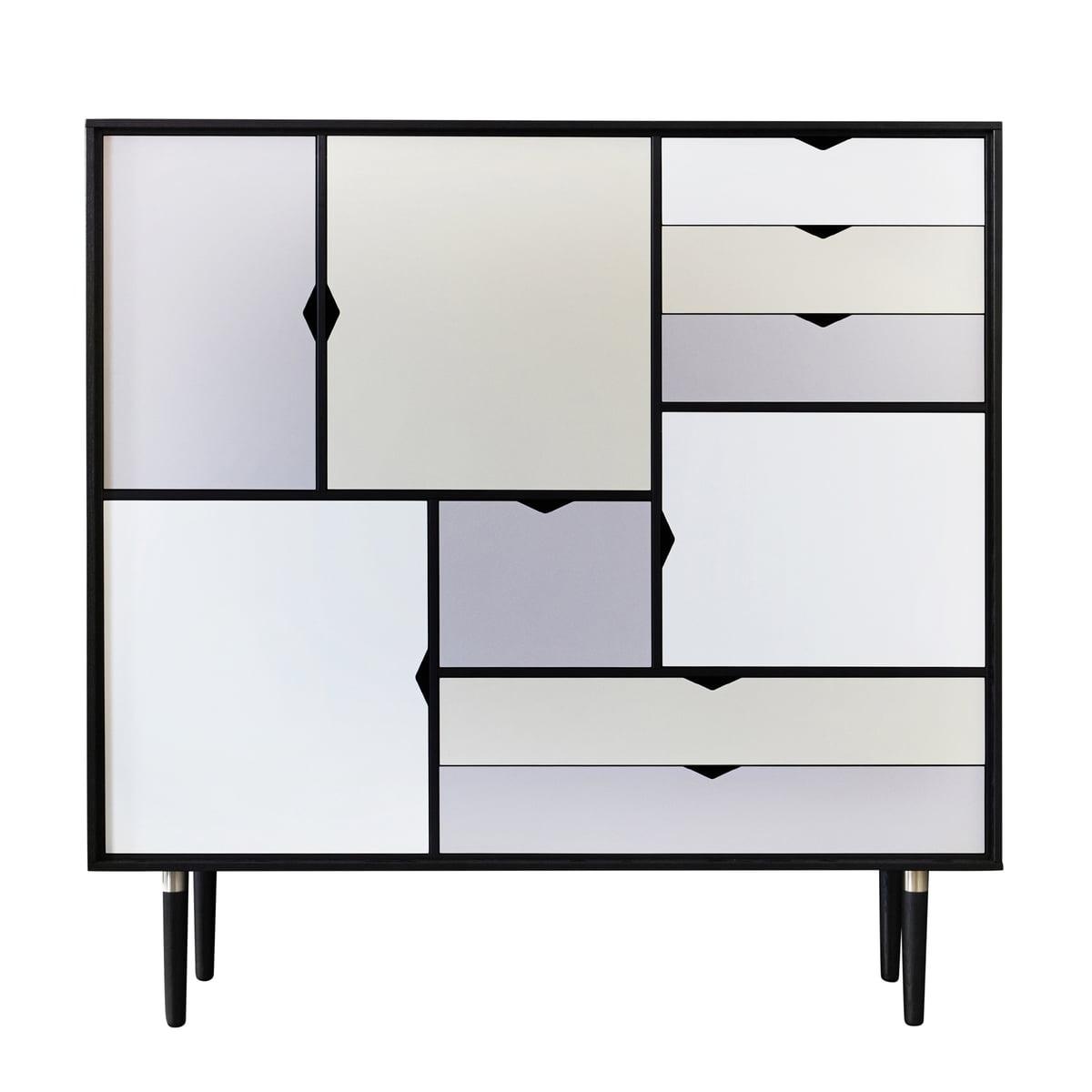 S3 sideboard multicoloured andersen furniture for Sideboard 3 meter lang