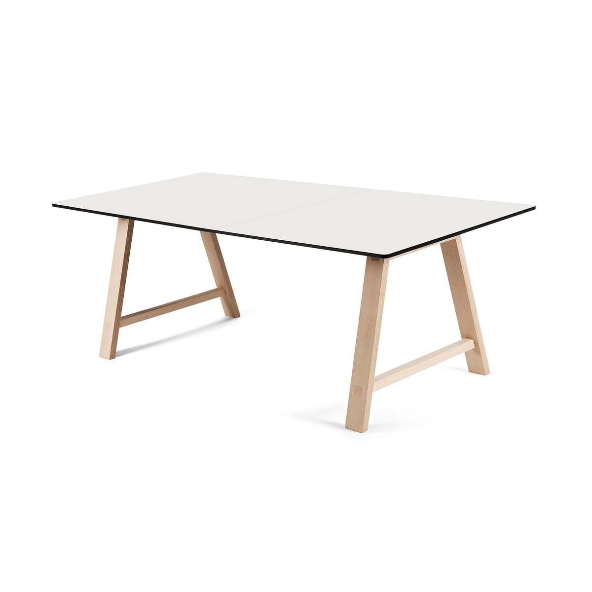 T1 extending table 160 cm andersen furniture for Design tischplatten