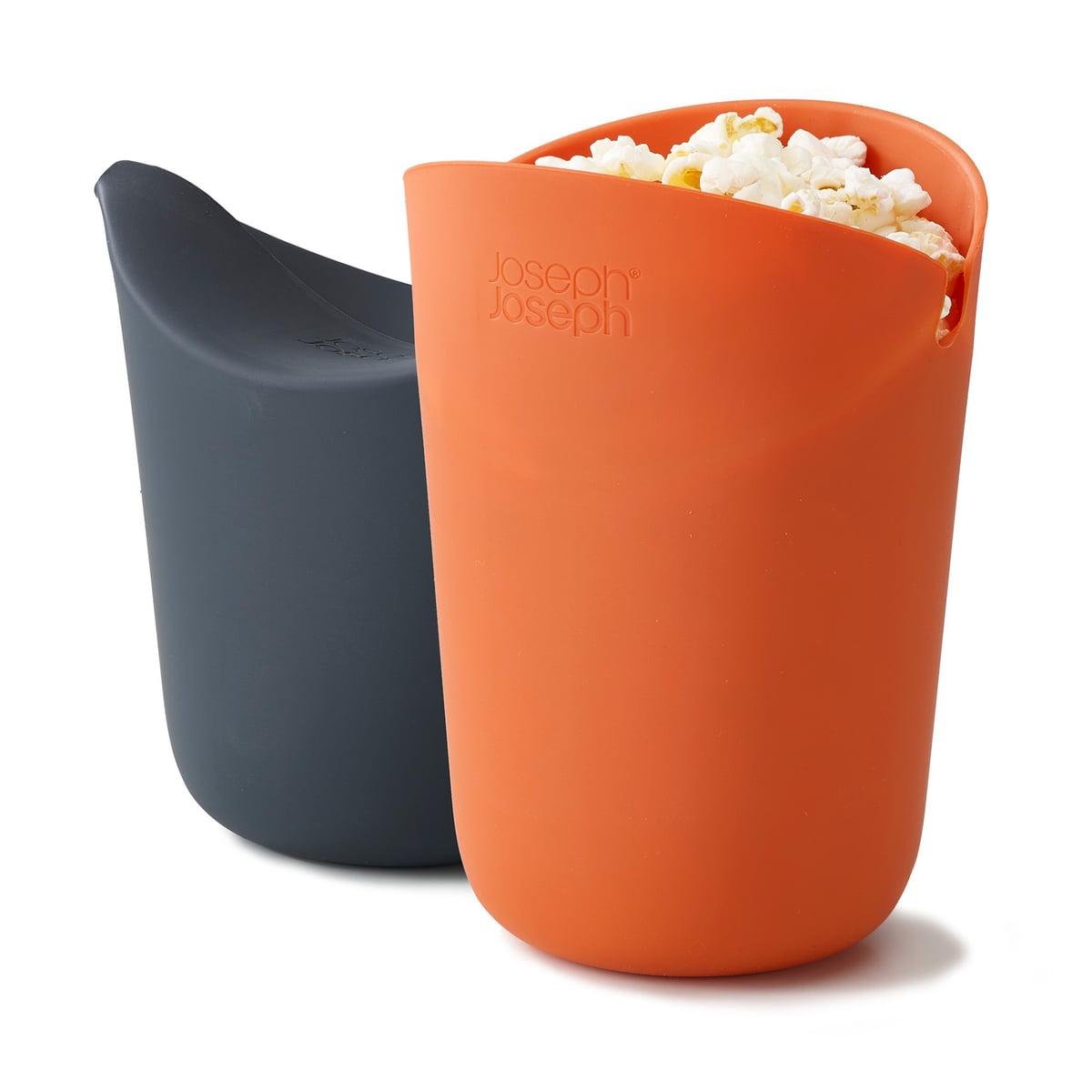 m cuisine popcorn maker set of 2 by joseph joseph. Black Bedroom Furniture Sets. Home Design Ideas
