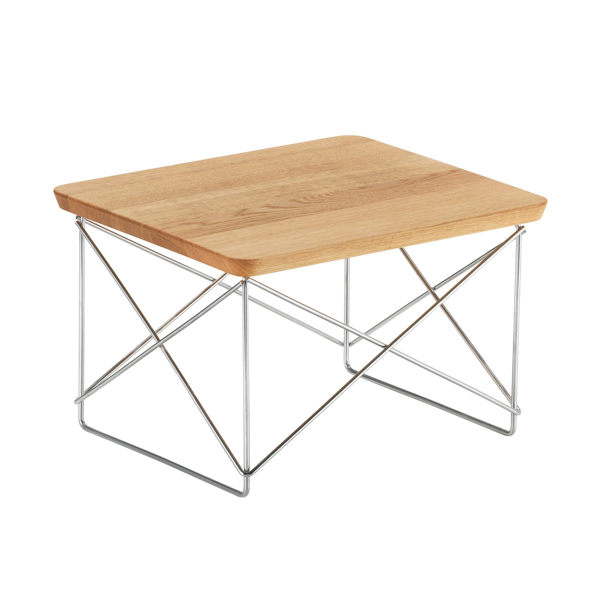 Eames occasional table ltr by vitra connox eames occasional table ltr by vitra in oak chrome keyboard keysfo Gallery
