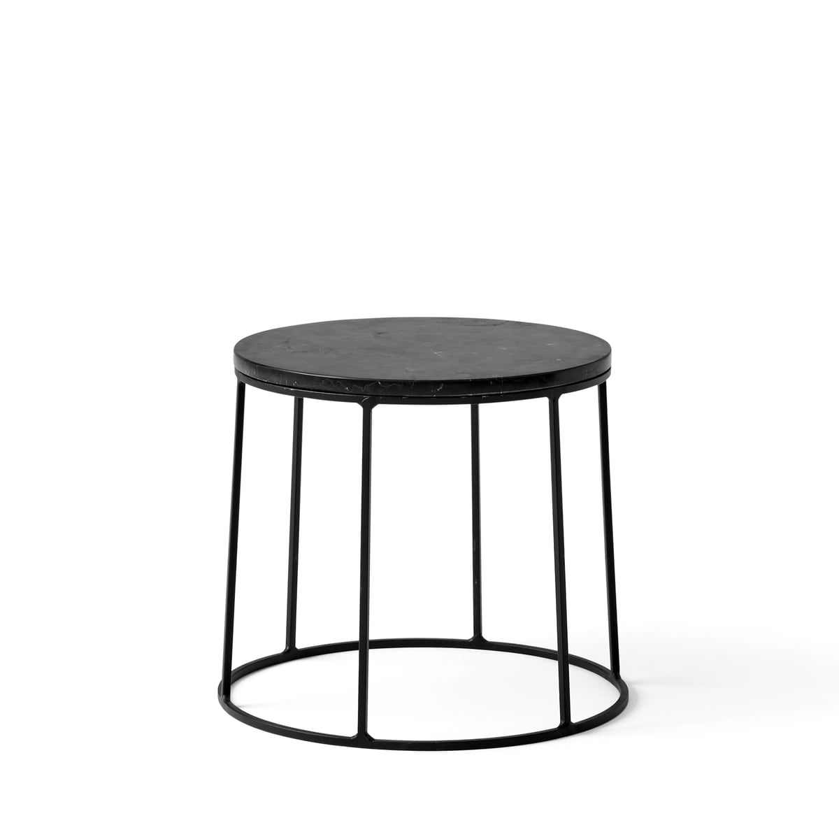 The wire base by menu in the home design shop wire table top marble as a side table greentooth Images