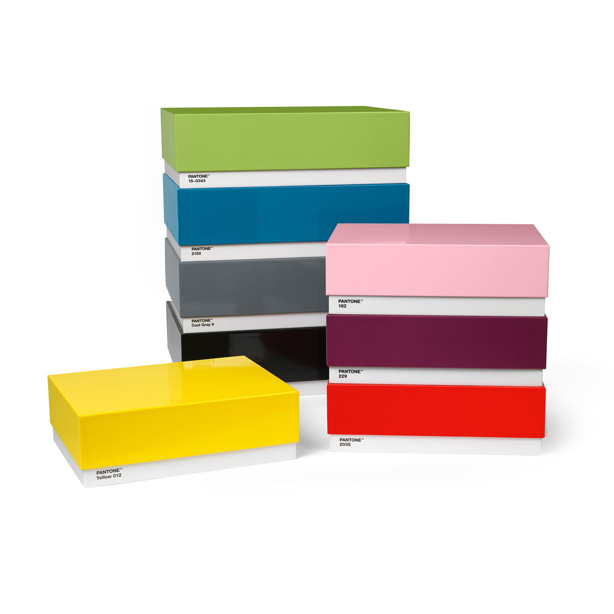 Box (Set of 44) by Pantone Universe | furniture universe uk