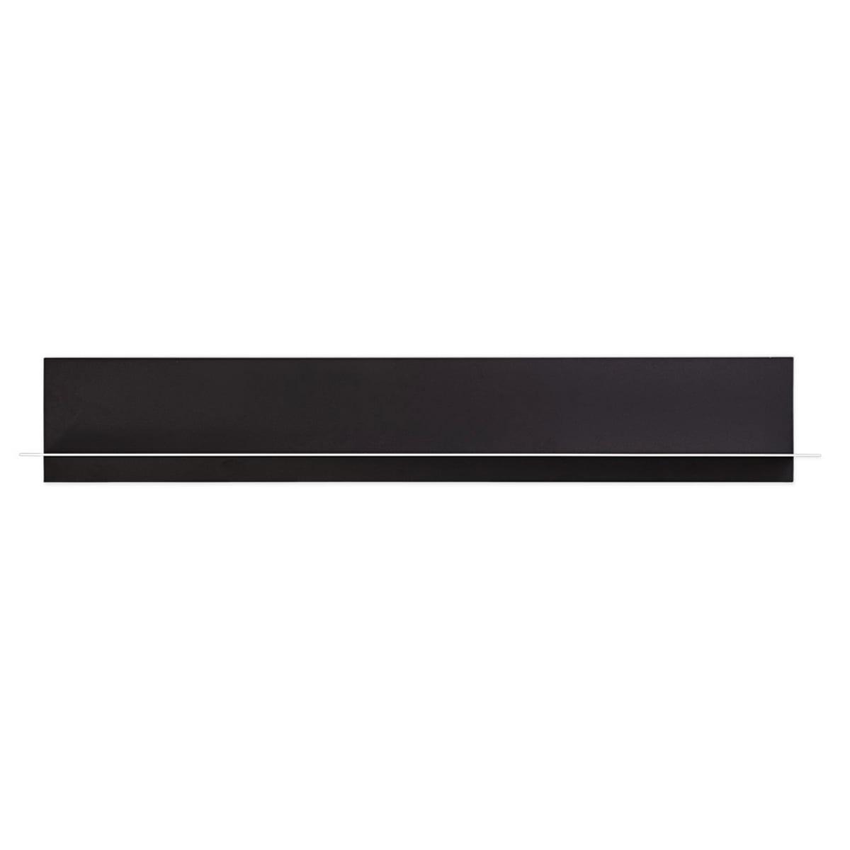 Paper Shelf Wandregal Schwarz A2 Design Letters