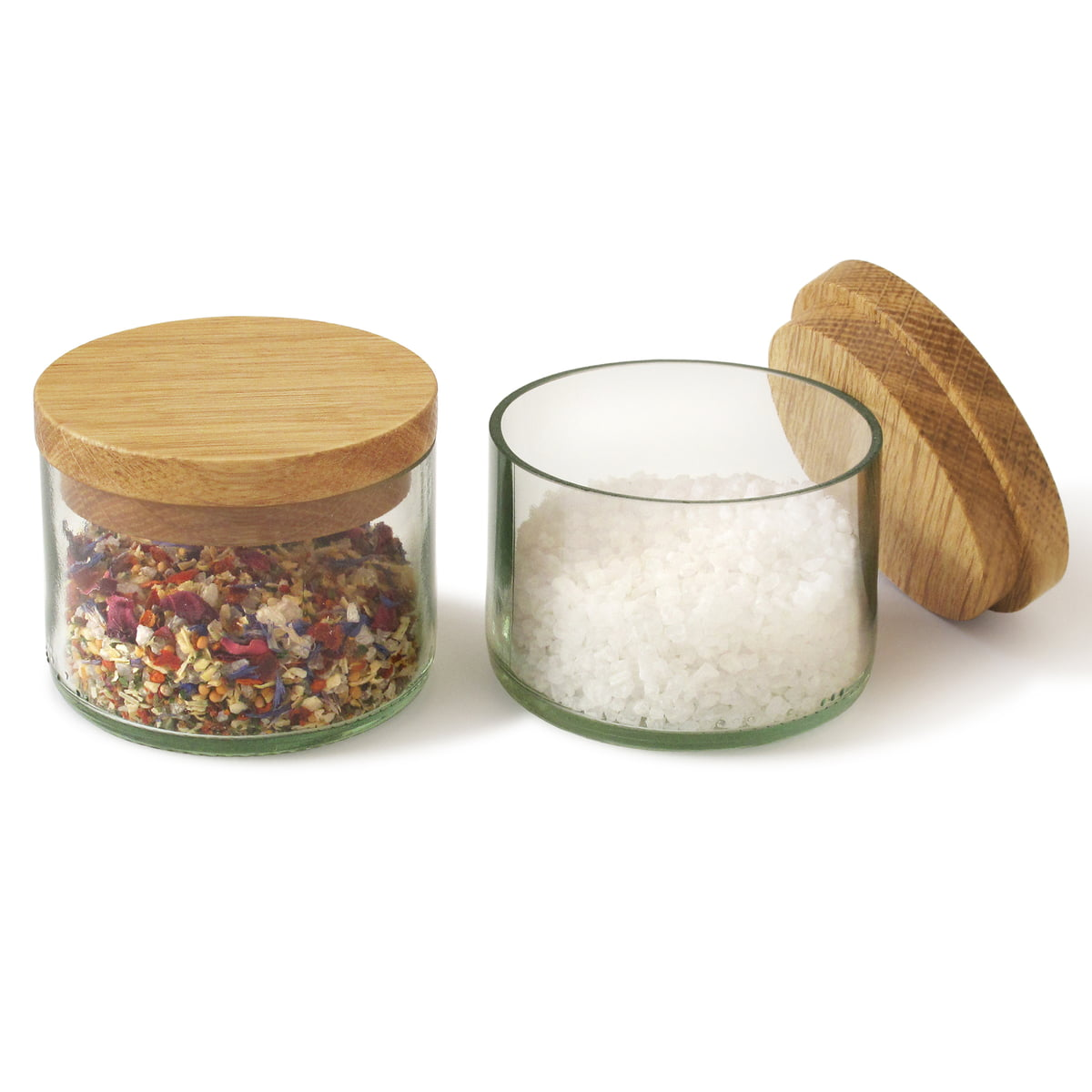 Salt Spice Jars By Side By Side Connox