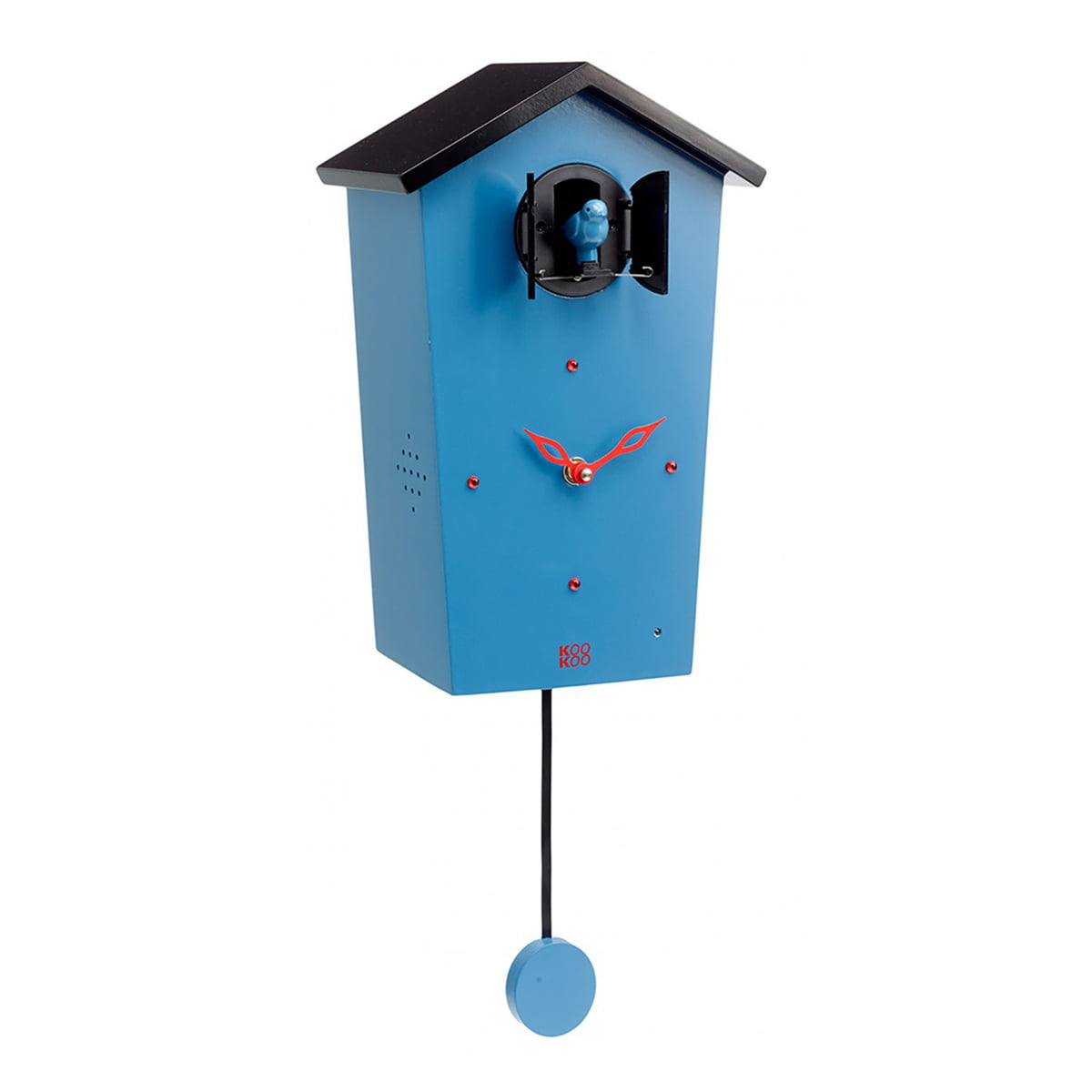 Groovy Kookoo Bird House Cuckoo Clock Blue Limited Edition Home Interior And Landscaping Ferensignezvosmurscom