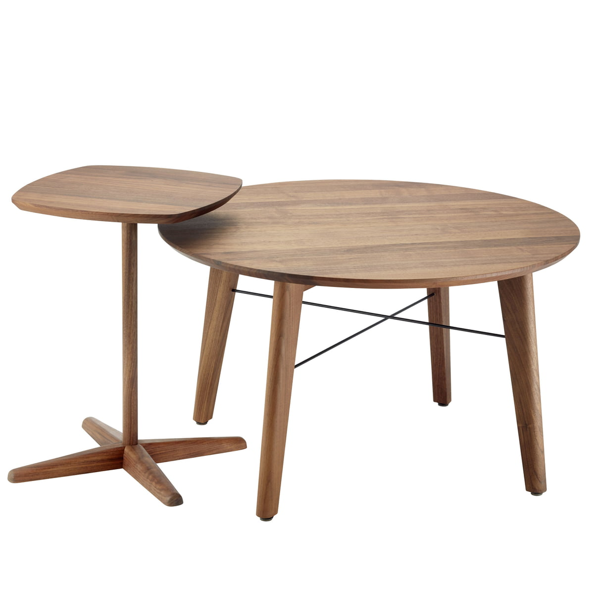 S 1810 coffee table by thonet connox shop for Table thonet