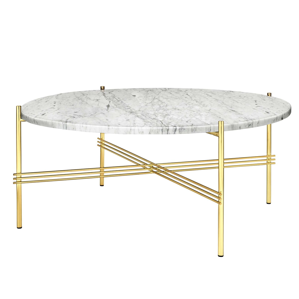 Ts coffee table by gubi connox shop for Table basse marbre
