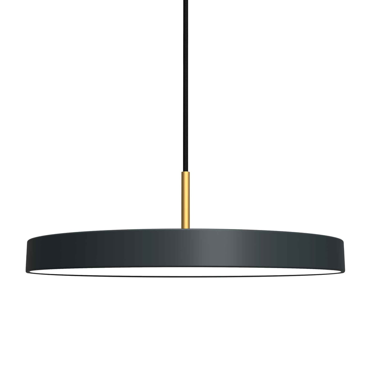 Asteria pendant lamp led by vita connox asteria pendant lamp led by vita in anthracite mozeypictures Images